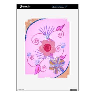 Mi pequeña princesa te amo XOXO Calcomanías Para El iPad 2