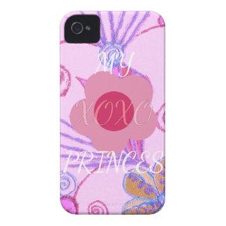 Mi pequeña princesa te amo XOXO Case-Mate iPhone 4 Cárcasas
