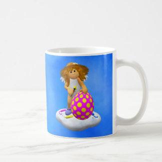 Mi pequeño ángel: Saludos de Pascua Taza De Café