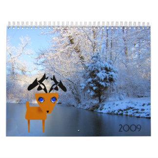 Mi pequeño calendario del reno