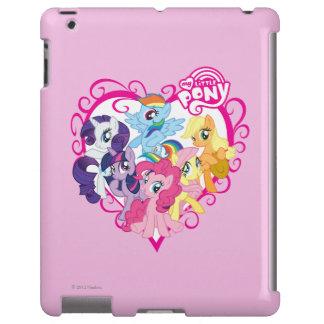 Mi pequeño corazón de los potros funda para iPad