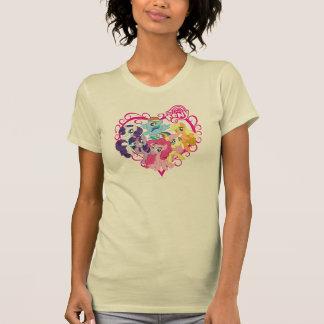 Mi pequeño corazón de los potros camisetas