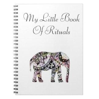 Mi pequeño libro de rituales - Pagan del cuaderno