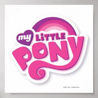 Mi pequeño logotipo del potro póster