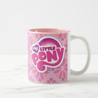 Mi pequeño logotipo del potro tazas
