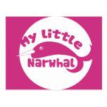 Mi pequeño Narwhal Postal