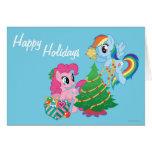 Mi pequeño navidad del potro tarjeta de felicitación