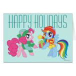 Mi pequeño potro, navidad tarjeta de felicitación