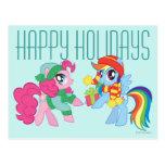 Mi pequeño potro, navidad tarjeta postal