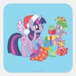 Mi pequeño potro, regalos de Navidad Colcomanias Cuadradass