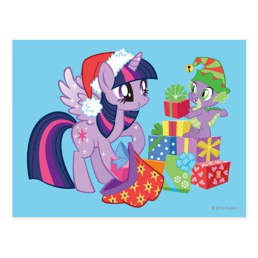 Mi pequeño potro, regalos de Navidad Postales
