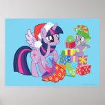 Mi pequeño potro, regalos de Navidad Poster