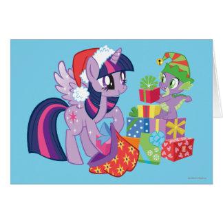 Mi pequeño potro, regalos de Navidad Tarjeta