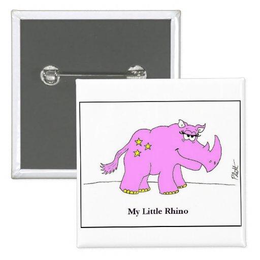 Mi pequeño rinoceronte pin