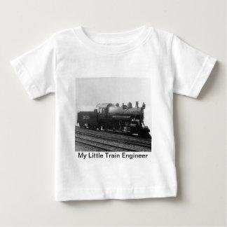 Mi pequeño tren del motor de vapor del ingeniero playera de bebé