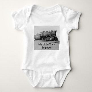 Mi pequeño tren del vapor del vintage del body para bebé