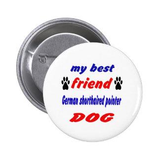 Mi perro alemán del indicador de pelo corto del