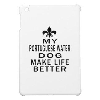 Mi perro de agua portugués hace vida mejor