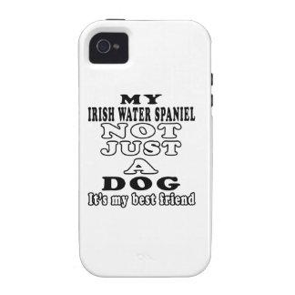 Mi perro de aguas de agua irlandesa no apenas un p vibe iPhone 4 fundas
