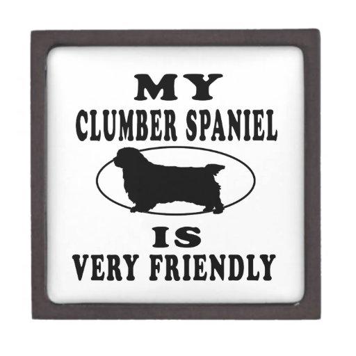 Mi perro de aguas de Clumber es muy amistoso Cajas De Joyas De Calidad