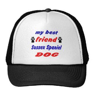 Mi perro de aguas de Sussex del mejor amigo hace Gorras