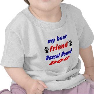 Mi perro de Basset Hound del mejor amigo Camiseta