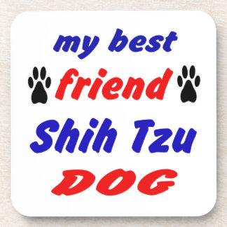 Mi perro de Shih Tzu del mejor amigo Posavasos De Bebidas