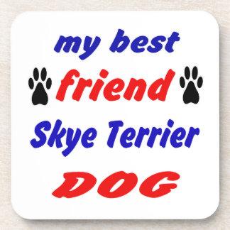 Mi perro de Skye Terrier del mejor amigo Posavaso