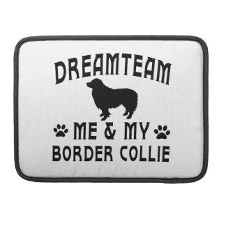 Mi perro del border collie funda para macbooks