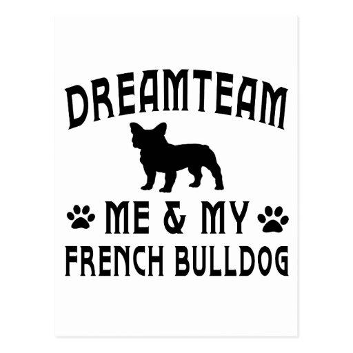 Mi perro del dogo francés postales