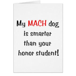 Mi perro del MACH es más elegante… Tarjeta Pequeña