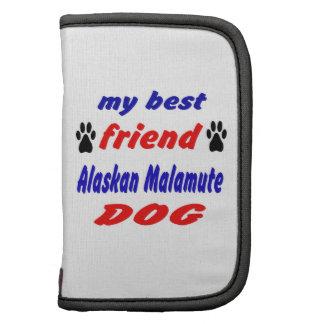 Mi perro del Malamute de Alaska del mejor amigo Planificador