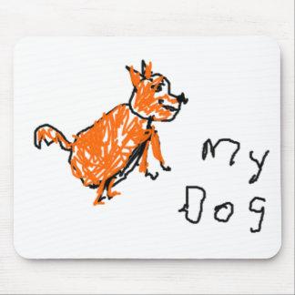 Mi perro - el dibujo del niño