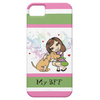 Mi perro es mi caso del iPhone de BFF iPhone 5 Carcasa