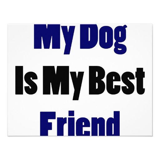Mi perro es mi mejor amigo comunicados personales