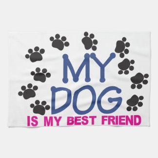 Mi perro es mi mejor amigo toallas