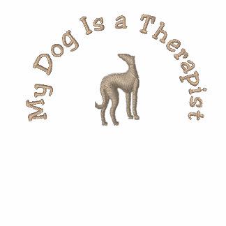 Mi perro es terapeuta sudaderas bordadas