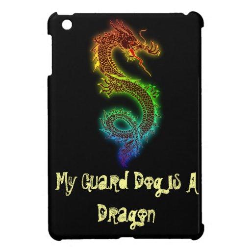 Mi perro guardián es un dragón iPad mini cobertura