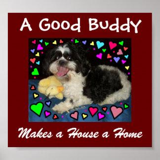 Mi perro - mi compinche póster