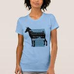 ¡Mi perro no es un mini Dobie! Camisetas