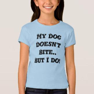 Mi perro no muerde la camiseta remeras