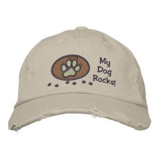 Mi perro oscila el bordado en el gorra gorra de béisbol bordada