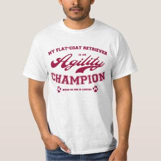 Mi perro perdiguero Plano-Revestido es un campeón Camisas