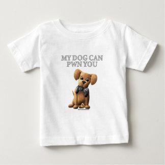 Mi perro puede PWN usted Playera De Bebé