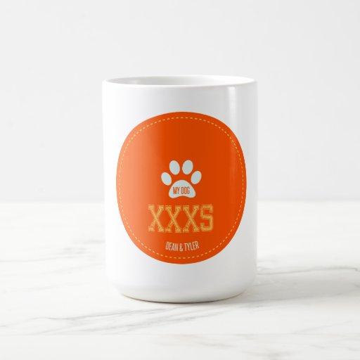 Mi perro tazas de café