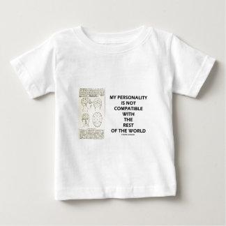 Mi personalidad no es resto del mundo compatible tshirts