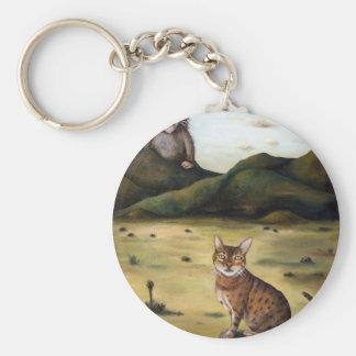 Mi pesadilla peor de los gatos llavero redondo tipo pin