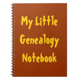 Mi poco cuaderno de la genealogía