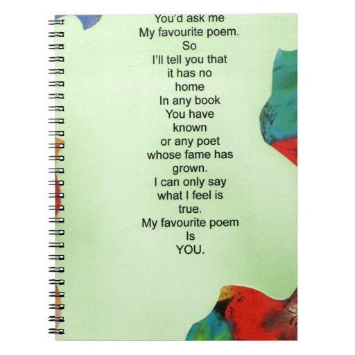 mi poema preferido libros de apuntes