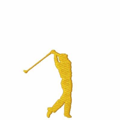 Mi polo con monograma Tres-Inicial del golf del de